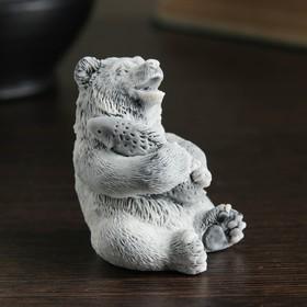 """Сувенир """"Медвежонок с рыбой (3 вида)"""" 6,5см в Донецке"""