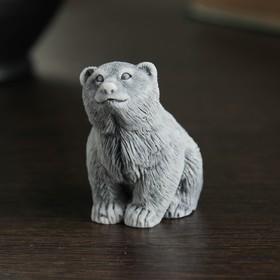 "Сувенир ""Медвежонок сидит"" 4,5см"