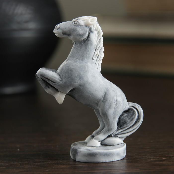 """Сувенир """"Конь на дыбах маленький"""" 6см - фото 366866618"""