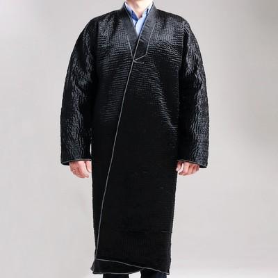 Чапан узбекский мужской черный, уценка
