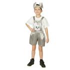 """Карнавальный костюм """"Зайчонок"""", атлас, полукомбинезон, головной убор, р-р 30, рост 110-116 см"""