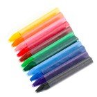 Пастель масляная 12 цветов, «Луч» De Luxe, трёхгранная - фото 7445883