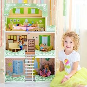 Кукольный домик «Луиза Виф», с мебелью