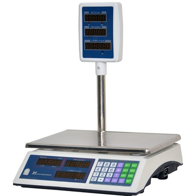 Весы ВР 4900-15-2/5 СДБ-01, платформа 330х230, со стойкой