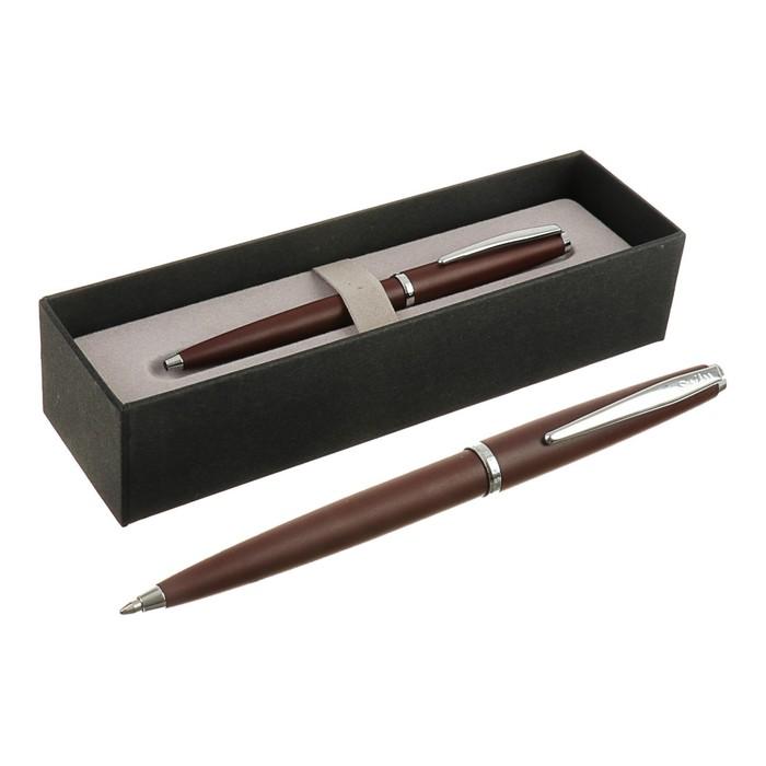 Ручка шариковая подарочная Scrikss Vintage 53С, автоматическая, в чёрном футляре