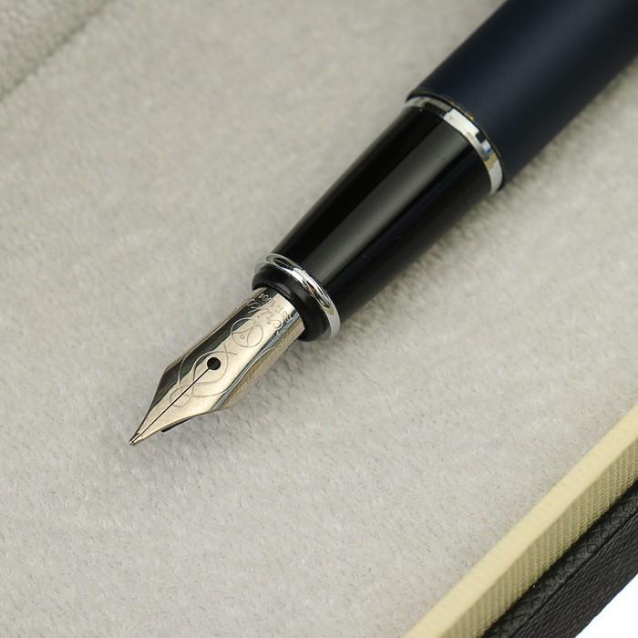 Ручка перьевая подарочная Scrikss Vintage 53С, в чёрном футляре - фото 537624111