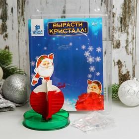 "Set for growing crystal ""Santa Claus"""