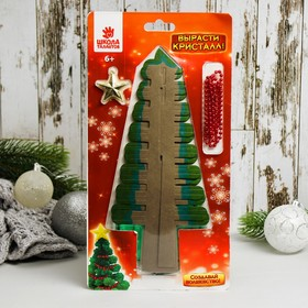 """Set for crystal growing """"Tree with lights"""""""