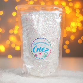 "Bulk artificial snow for decorative ""Glitter"" 110 g"