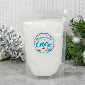 "Bulk artificial snow for decorative ""Soft sequined"" 50 g"