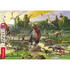 Пазл «Эра динозавров», 30 элементов