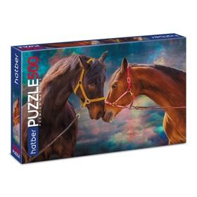Пазл «Лошади», 500 элементов