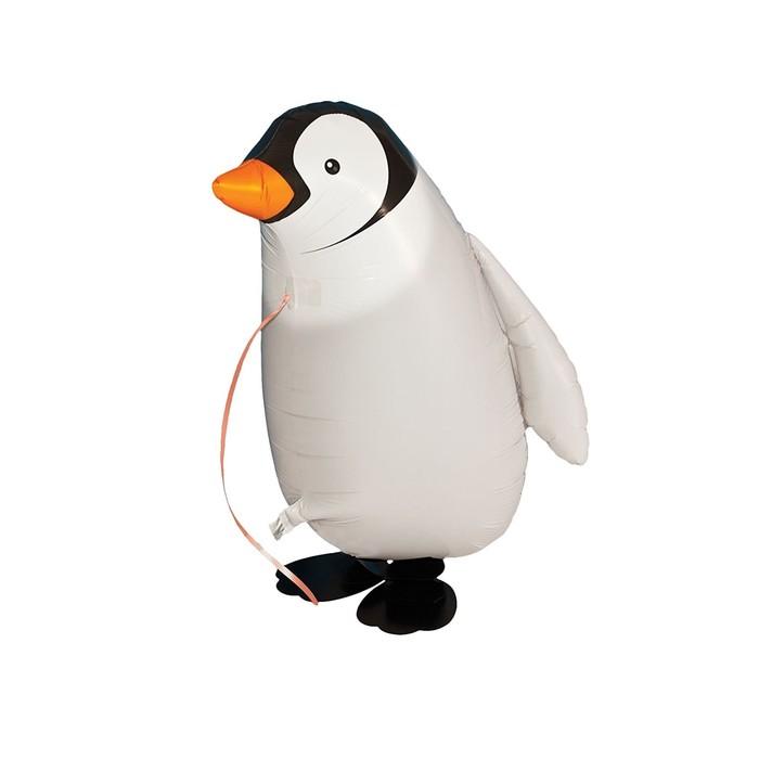 """Шар фольгированный 16"""" «Пингвин», на лапках, ходячий - фото 308473542"""