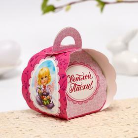 Пасхальная Коробочка для яйца «Ангелочки», 7,3 см × 7,5 см × 10 см