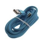 Кабель Jet.A, Type-C - USB, QC 3.0, 2 А, 2 м, синий