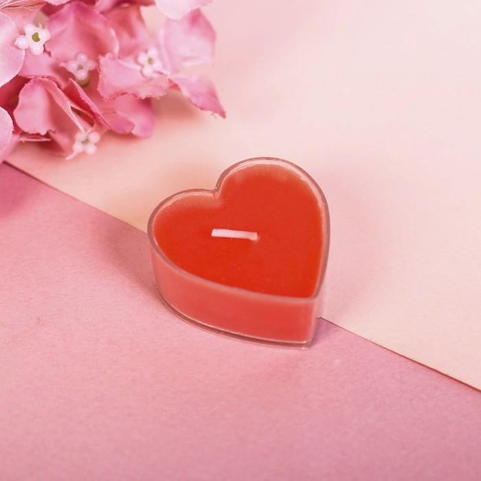 Свеча на открытке «Почта любви» - фото 35610445