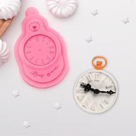 """Mold silicone 11×7 cm """"Clock"""""""