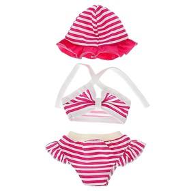 Одежда для кукол 38-43 см: топик, шорты с панамой, МИКС