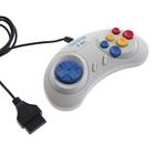 Геймпад Dendy 8-bit (форма Sega) широкий разъем (DENDY JUNIOR)