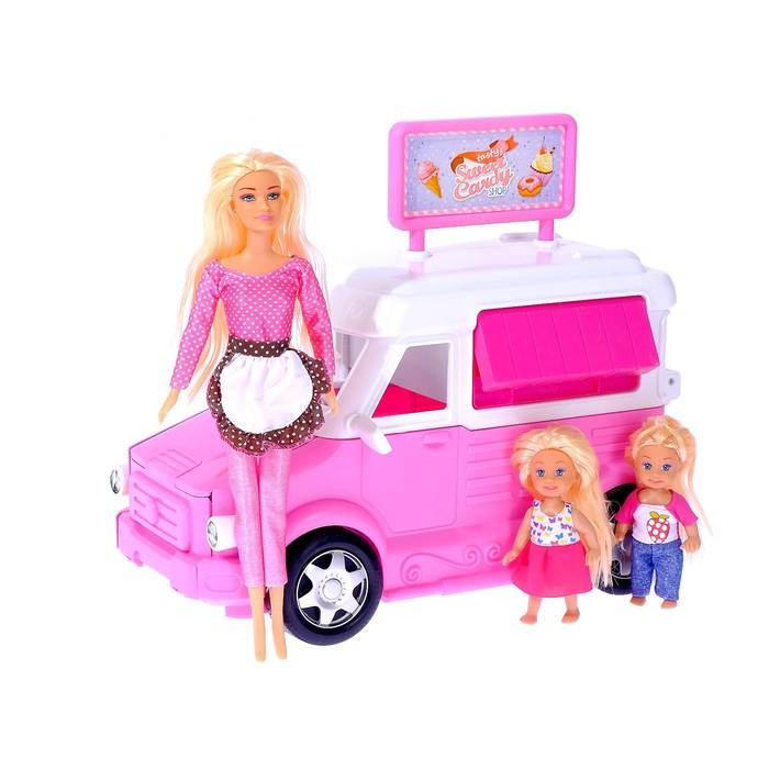 Набор игровой кукол «Путешествие» с аксессуарами, в пакете