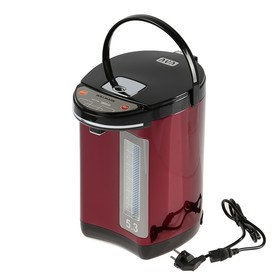 Термопот WILLMARK WAP-502KL, 5.3 л, 900 Вт, красный