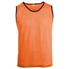 Манишка футбольная, размер S, цвет оранжевый