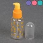 Бутылочка для хранения, с дозатором, 75 мл, цвет МИКС