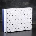 Коробка подарочная 26 х 19 х 7,5 см