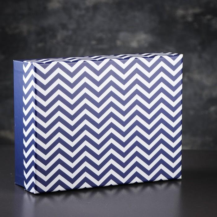 Коробка подарочная 21 х 27,5 х 8,5 см - фото 8877487