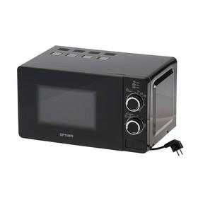 Микроволновая печь OPTIMA MO-2110B, 700 Вт, 20 л, черная