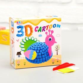 Набор для творчества «Создай 3D игрушку - Павлин»