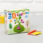 """Набор для творчества """"Создай 3D игрушку - Дерево"""""""