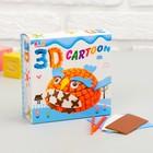 """Набор для творчества """"Создай 3D игрушку - Сова"""""""