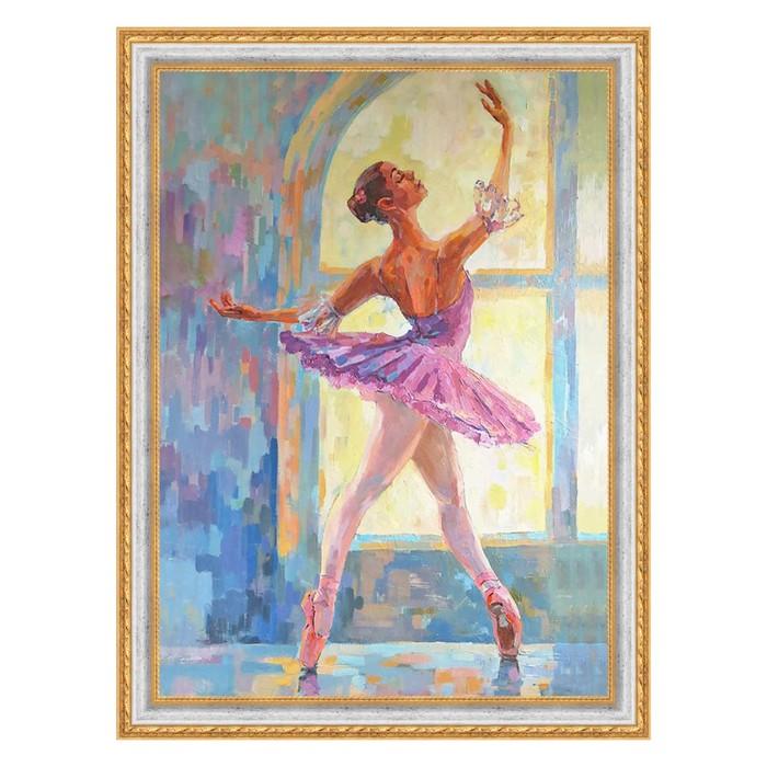 """Картина из пайеток """"Балерина"""""""