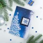 """Шоколад в открытке """"В Новым годом"""" серебро, 5 г"""
