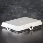 Коробка для пирожных, BON BON, премиум, серебряное основание, 42,5 x 32,5 x 10 см - фото 308035642