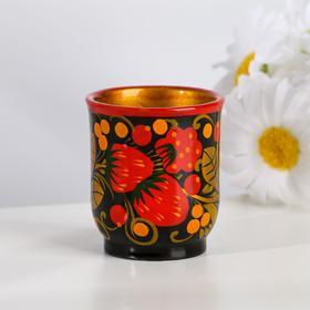 "Salt shaker ""Berry"", 4×5 cm, Khokhloma"