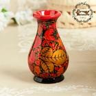 """Vase """"Berry"""", 8×8×12 cm, Khokhloma"""
