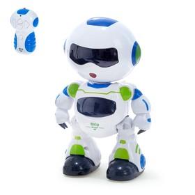 Робот радиоуправляемый «Блайп», световые и звуковые эффекты, работает от батареек