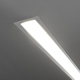 Светильник светодиодный LSG-03-5, IP20, 3000K, 21 Вт, цвет серебро