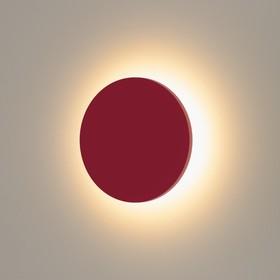 Светильник светодиодный 1660 TECHNO, IP54, 3000K, 6 Вт, цвет красный