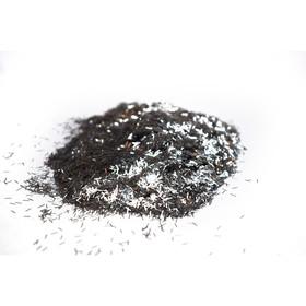 Блестки Silk Plaster, люрекс, серебрянные