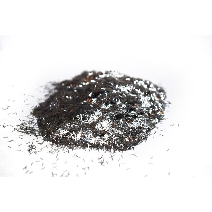 Блестки Silk Plaster, люрекс, серебряные