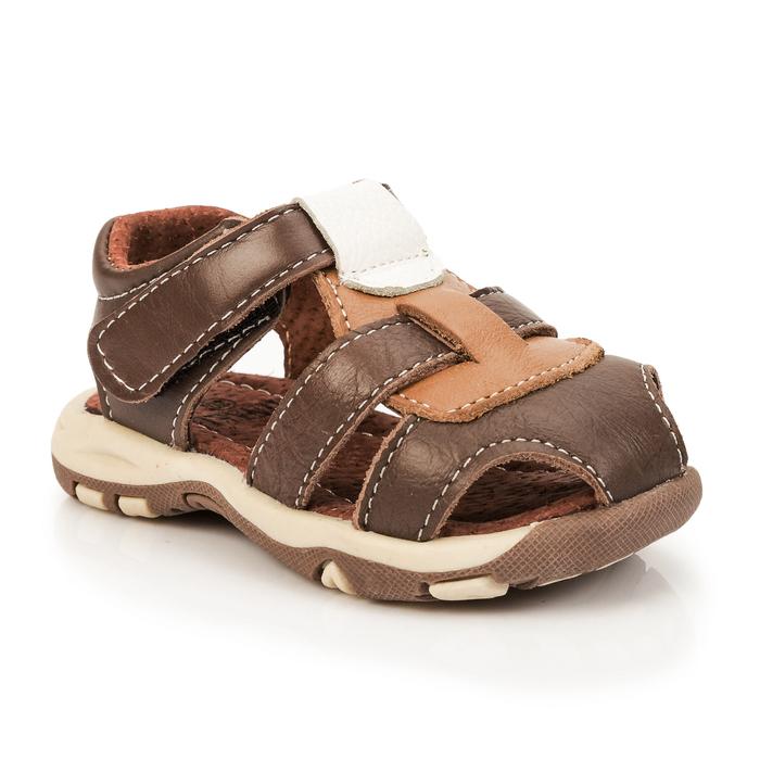 Сандалии детские MINAKU цвет коричневый, размер 20