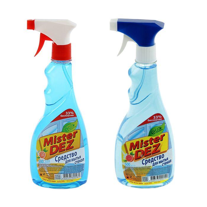 "Средство для мытья стекол Mister DEZ ""Грейпфрут"", 500 мл"