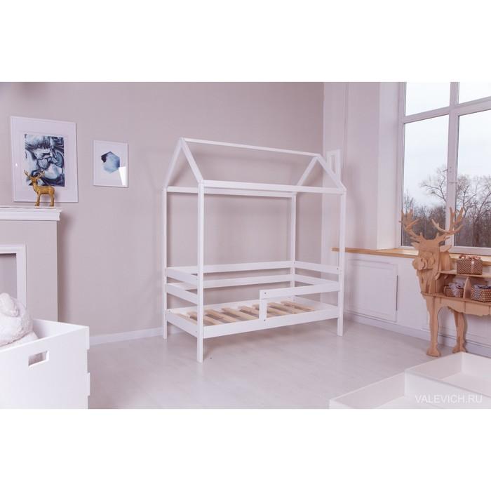 Кровать домик DreamHome INCANTO, спальное место 160 х 80 см, цвет белый
