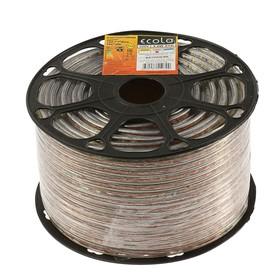 Светодиодная лента Ecola, 220В, SMD2835, 100 м, IP68, 4,8Вт/м, 60 LED/м, 4200К