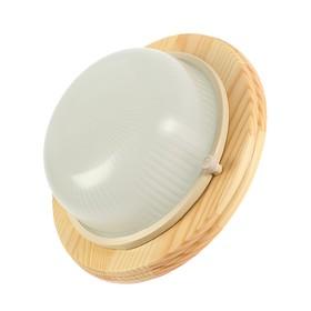 Светильник накладной Ecola, GX53, IP65, 220В, 220х84 мм, матовый, цвет клен