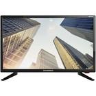 """Телевизор Soundmax SM-LED24M02 24"""", 1366x768, DVB-T2, 1xHDMI, 1xUSB, черный"""