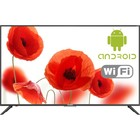 "Телевизор Telefunken TF-LED50S59T2SU, 50"", UHD, DVB-T2/S2, 3xHDMI, 3xUSB, SmartTV, черный"